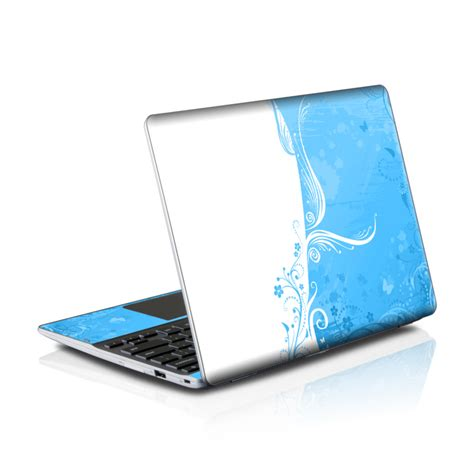 Chromes Crush Proof For Mac Laptops by Samsung Series 5 550 Chromebook Skins Skin Blue Crush