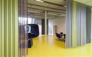 office partition curtains office room dividers curtains track home design ideas