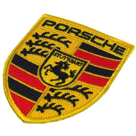 Embroidered Patch porsche embroidered patch embroidery logo emblem