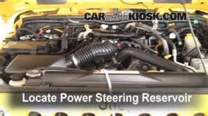 Jeep Liberty Power Steering Fluid 2007 2016 Jeep Wrangler Up How To 2008 Jeep