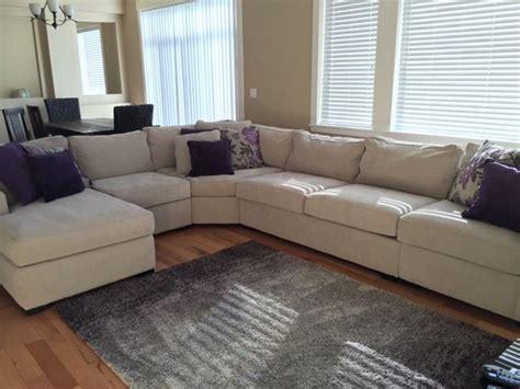 radley 5 fabric chaise sectional sofa radley 5 fabric chaise sectional sofa in chrome