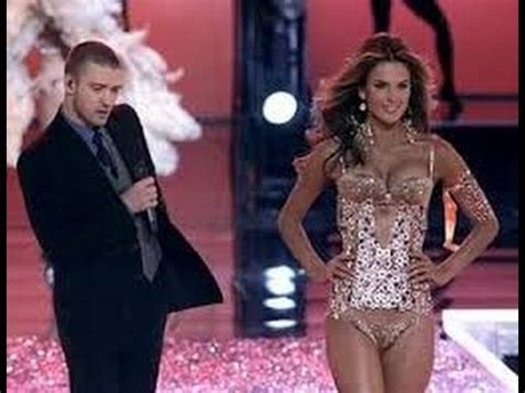 Justin Timberlake Brings Sexyback To The Victorias Secret Catwalk by S Secret Justin Timberlake Back Vs Adam