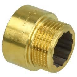 rallonge de robinet laiton blanc 1 2 quot x 30 mm 802002559