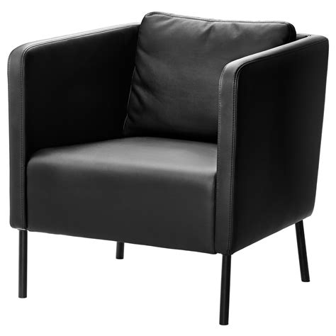 the armchair eker 214 armchair kimstad black ikea