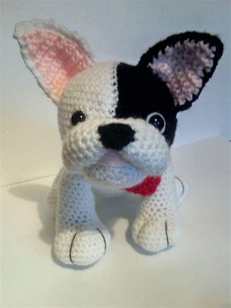 crochet pattern english bulldog crochet brown french bulldog french bulldog gift
