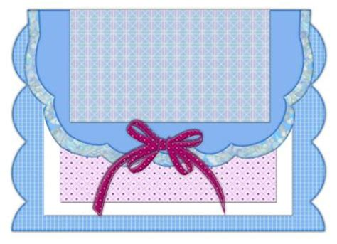 shaped cards free templates free card templates