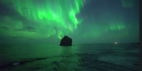 northern lights august iceland s august northern lights captured in