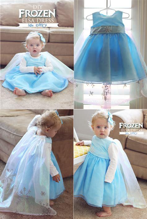 tristinandcompany linky love diy dresses edition diy frozen elsa dress baby edition free tutorial kiki