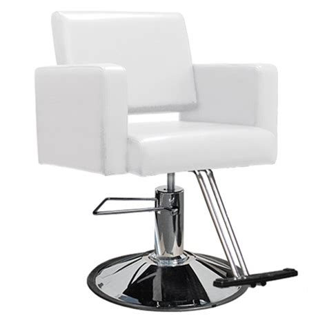 Salon Stool Chair by Image Gallery Hair Salon Chairs