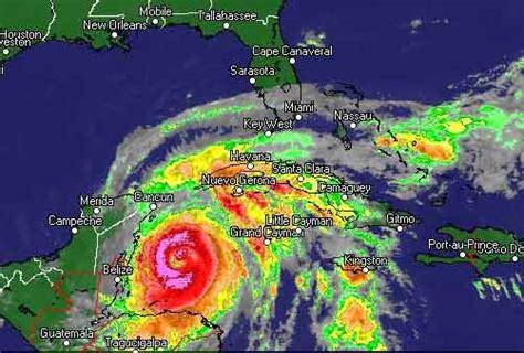 imagenes satelitales del huracan wilma wilma el huracn ms potente
