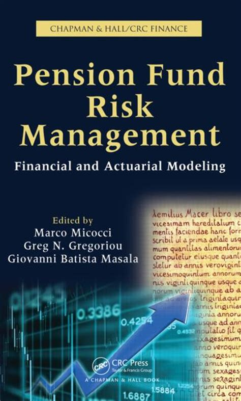 reference books for risk management pension fund risk management financial and actuarial