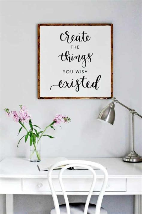 good Small Room Ideas For Girl #4: DIY-Wood-Sign-with-Calligraphy-Quote-IMG_7938.jpg?resize=700%2C1050