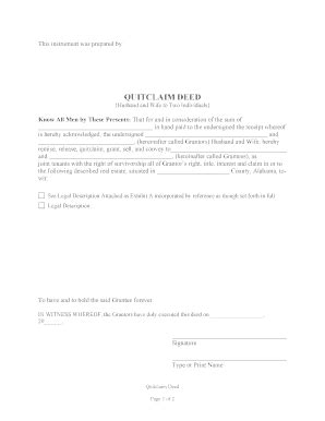 Bill Of Sale Form Pennsylvania Quitclaim Deed Form Templates Fillable Printable Sles For Pennsylvania Deed Template