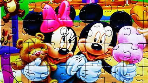 Puzzle Mickey Mouse disney puzzle mickey mouse rompecabezas play jigsaw puzzles de learning activities