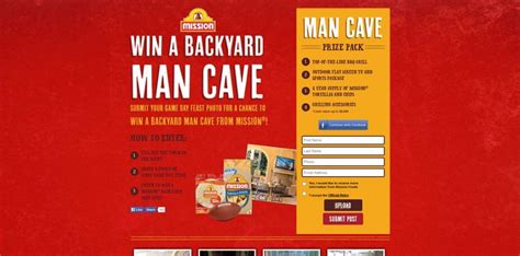 Mission Foods Sweepstakes - mission outdoor man cave sweepstakes 82 000 in prizes