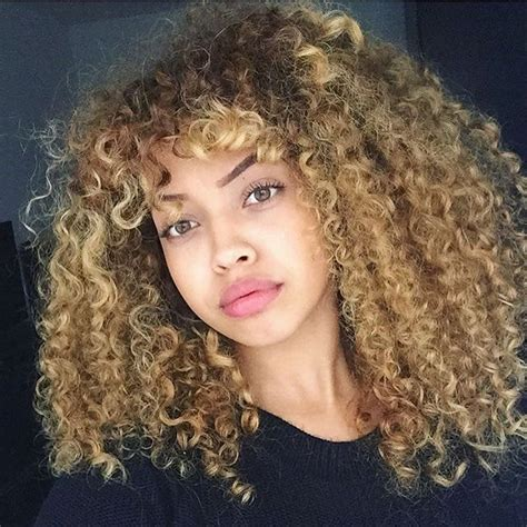 blonde curly partial up do spicy girl wig ebay 565 best images about hair color for mixed chicks on pinterest