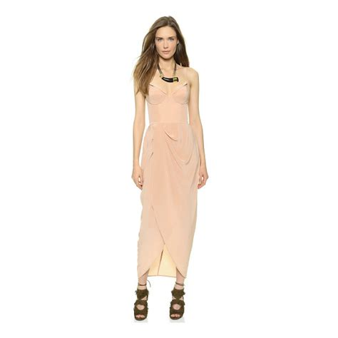 zimmermann asymmetric drape dress zimmermann silk draped maxi dress nudevotion com