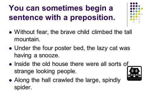 Starts Sentence by Really Useful Words Which Give Important Information