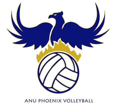 design logo volleyball anu phoenix volleyball logo by mr shui on deviantart