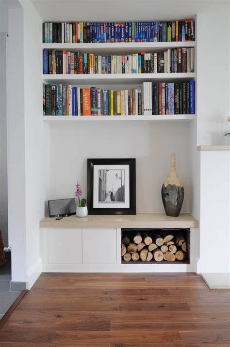 Modern Shelves For Living Room by Open Bookshelves With Coffee Table Living Room Modern And