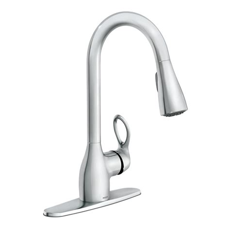 moen kleo kitchen faucet moen kleo single handle pull sprayer kitchen faucet