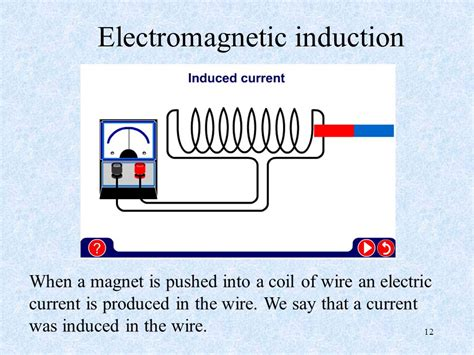 for electromagnetic induction to occur in a circuit there must be a electromagnetic animation free