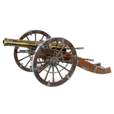 model of a louis xiv cannon at 1stdibs