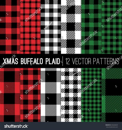 password pattern check christmas lumberjack buffalo check plaid and pixel gingham