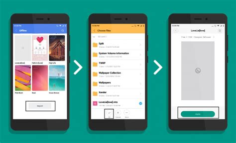 miui themes upload miui feature tutorial themes a step further in