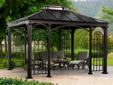 covered gazebo covered pergolas for sale pergola gazebo ideas