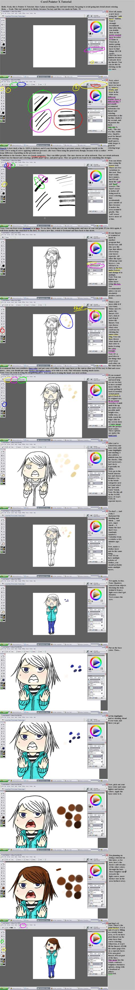 corel painter pattern corel painter x tutorial by pandragony on deviantart