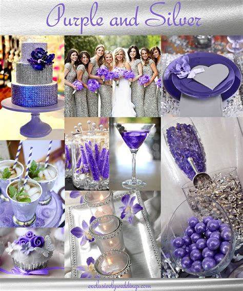 25 best ideas about purple silver wedding on pinterest