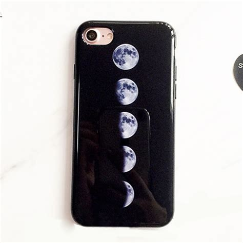 Casing Iphone 6 6s Plus Matte Black Batman Corner creative simple moon eclipse black matte cover for iphone 6 6s 7 plus ebay