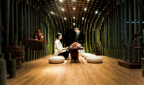 china tea room stunning bamboo interiors 10 incredibly intricate sustainable spaces webecoist