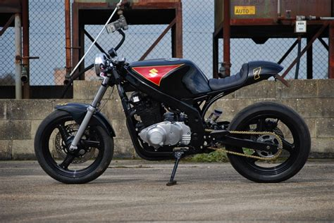 Cool Shed Plans suzuki gs500 cafe racer by so low choppers bikebound