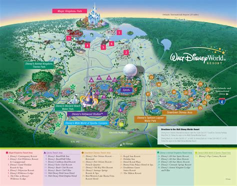 disney resort map walt disney world property map kennythepirate