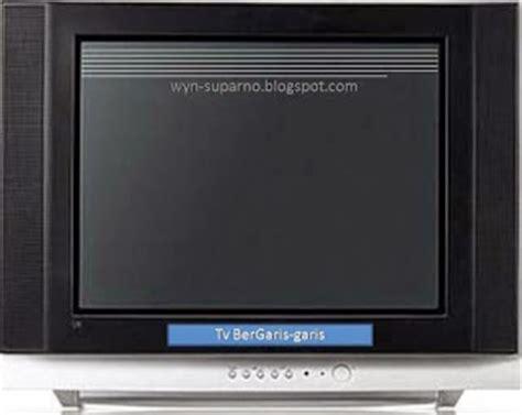 Gambar Dan Tv Sharp Lcd cara memperbaiki tv gambar bergaris garis muliatronik service televisi dan elektronik