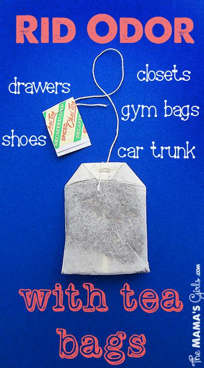 How To Get Rid Of Closet Smell by Rid Of Odor With Tea Bags