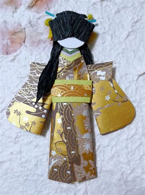 Origami Dolls - adorable japanese origami doll peony quot buy 2 and get