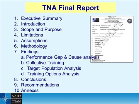 tna report template tna report template 28 images july 2012 18 free
