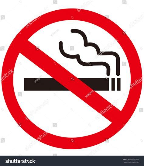 no smoking sign on mac startup no smoking sign stock vector 133920473 shutterstock
