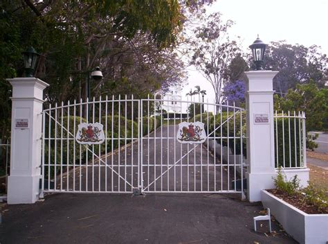 Parking Garage Designs file government house gates jpg wikimedia commons