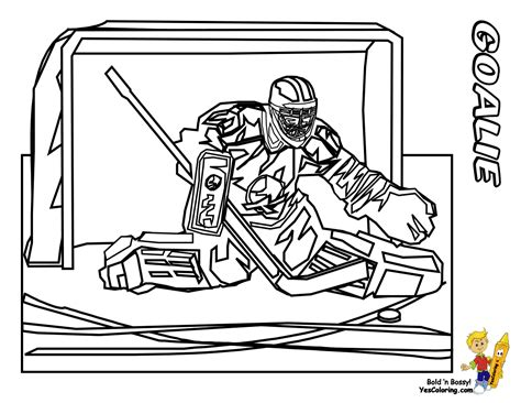powerhouse hockey coloring pages yescoloring free nhl