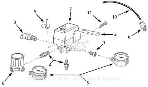 campbell hausfeld compressor parts diagrams