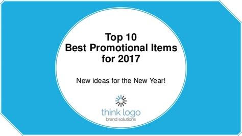 Best Branded Giveaways - top 10 best promotional items for 2017