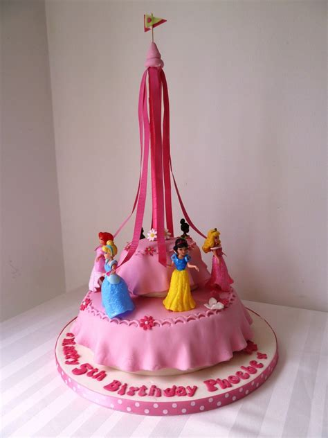 Disney Princesses Birthday Cake   Wedding & Birthday Cakes from Maureen's Kitchen In Whitley Bay
