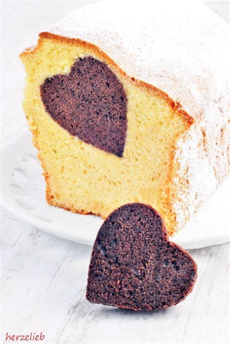 kuchen herz herzkuchen rezept toll zum valentinstag und zum