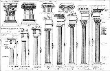 gesimse renaissance columna tipos glosario de t 233 rminos arquitect 243 nicos