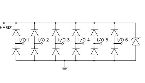 tvs diode continuous current srda3 3 6 railcl 174 low capacitance tvs diode array semtech