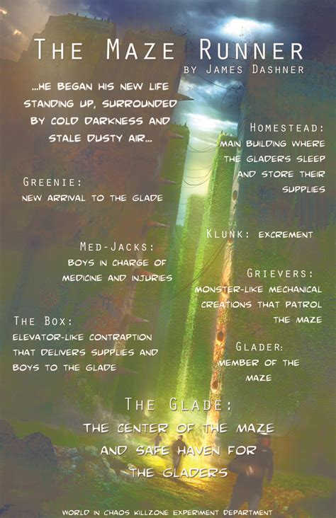 Theme Quotes In Maze Runner | quotes the maze runner theme quotesgram